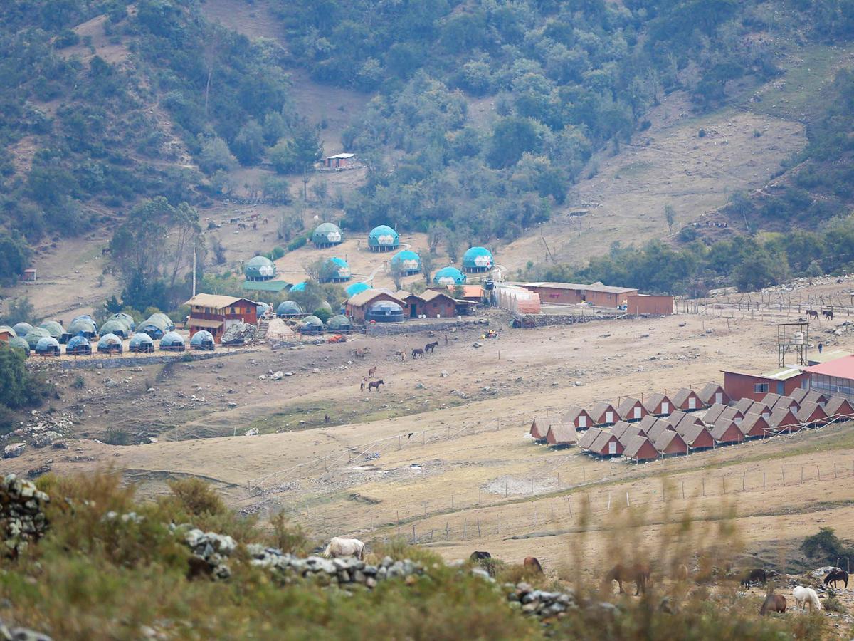 Salkantay Trail Camping