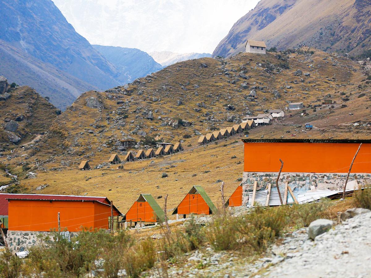 Salkantay Trek Camping